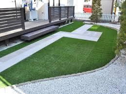 トータルグリーンでお庭に施工した人工芝